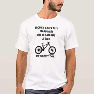 お金は幸福を買うことができません Tシャツ