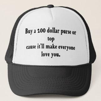 お金は愛を買いません! キャップ