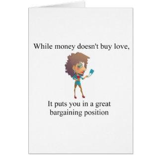 お金は愛買いません カード