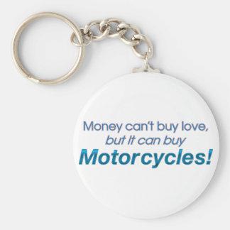 お金及びオートバイ キーホルダー