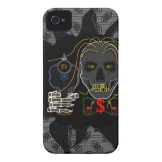 お金機械-鋼鉄グラフィックとのiphone 4ケース Case-Mate iPhone 4 ケース