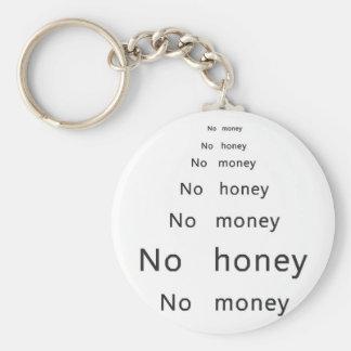 お金無し、蜂蜜無し キーホルダー