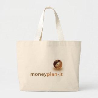 お金計画それ ラージトートバッグ