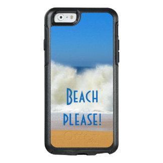 お願いしますビーチ! ビーチ場面電話箱 オッターボックスiPhone 6/6Sケース