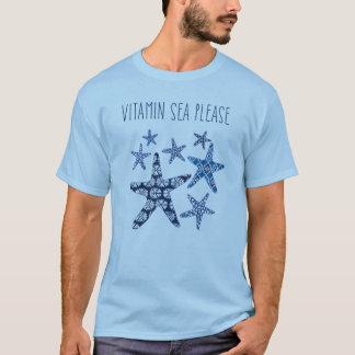 お願いします沿岸芸術 のビタミンの海 Tシャツ