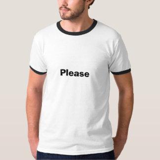 お願いします Tシャツ