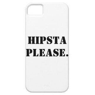 お願いしますHIPSTA iPhone SE/5/5s ケース