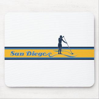 かいサンディエゴを立てて下さい マウスパッド