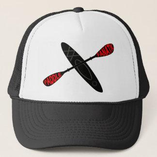 かい熱狂者-カヤックのロゴ キャップ