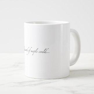 """かえでが…""""できたら""""Maplewood 巨大なマグ ジャンボコーヒーマグカップ"""