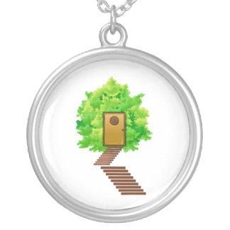 かえでの薮のドア階段生態学image.png シルバープレートネックレス