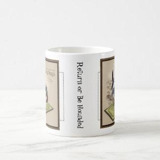 かえでの通りのバセット犬のマグ コーヒーマグカップ