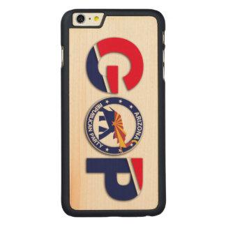 かえで木箱とAZGOPのiPhone 6/6s CarvedメープルiPhone 6 Plus スリムケース