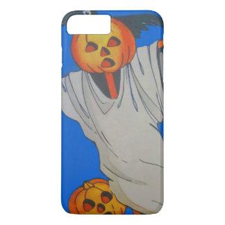 かかしのジャックOのランタンのカボチャ幽霊 iPhone 8 PLUS/7 PLUSケース