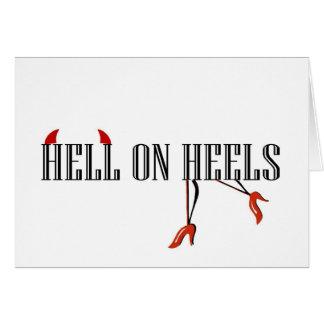 かかとの地獄(足か角) カード