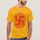 かぎ十字: インドの伝統的な記号 Tシャツ