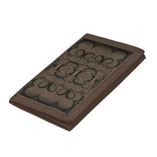かぎ針編みのスタイルの財布