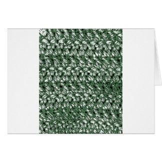 かぎ針編みのスタイル カード