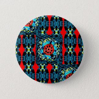 かぎ針編みのスタイル 5.7CM 丸型バッジ