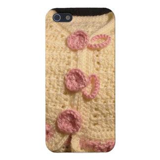 かぎ針編みのベビーのセーターのIphoneの場合 iPhone 5 ケース