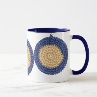 かぎ針編みのマグ マグカップ