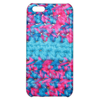 かぎ針編みの一見の光沢のある終わりのiPhone 5cケース iPhone5C