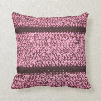 かぎ針編みの一見の枕 クッション