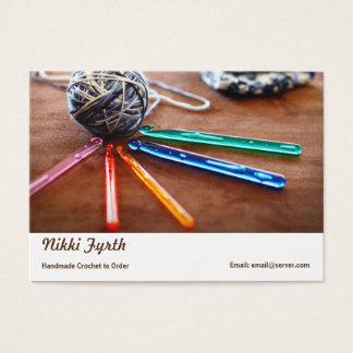 かぎ針編みの名刺 名刺