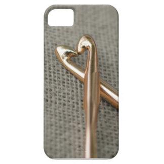 かぎ針編みの恋人のiPhone 5/5sの場合 iPhone 5 ベアリーゼアケース