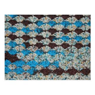 かぎ針編みの組合せ3 ポストカード