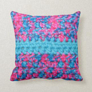 かぎ針編みの装飾用クッション クッション