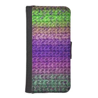 かぎ針編みのiPhoneの財布 iPhoneSE/5/5sウォレットケース