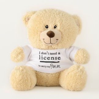 かぎ針編みホック免許証の技術 テディベア