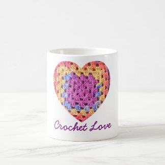 かぎ針編み愛コーヒー・マグ コーヒーマグカップ