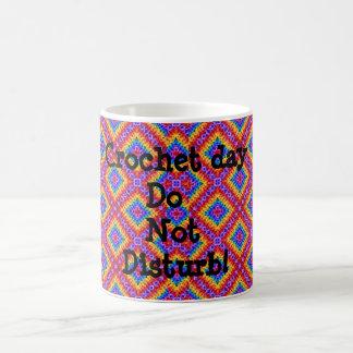 かぎ針編み愛 コーヒーマグカップ