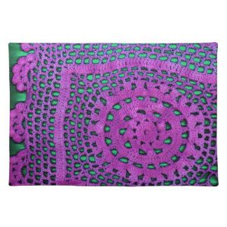 かぎ針編み ランチョンマット