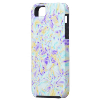 かすんでいるパステル調のフラクタル- iPhone 5の芸術の場合 iPhone 5 タフケース