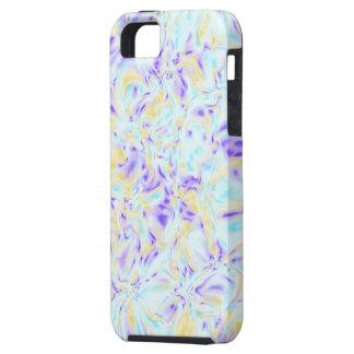 かすんでいる パステル調 フラクタル - iPhone 5 芸術 場合 iPhone 5 カバー