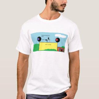 かたつむりおよび棒 Tシャツ