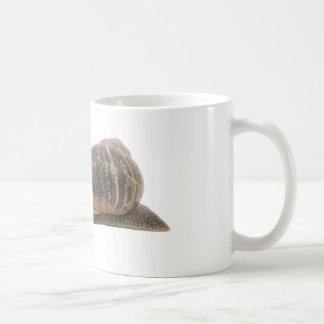 かたつむりおよび花 コーヒーマグカップ