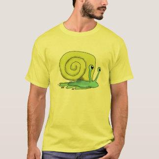 かたつむりのティー Tシャツ