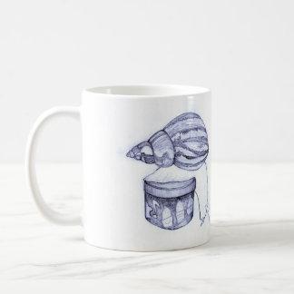かたつむりのマグ コーヒーマグカップ