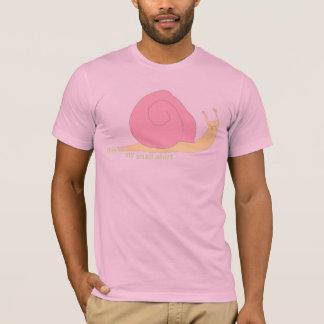 かたつむりのワイシャツ Tシャツ