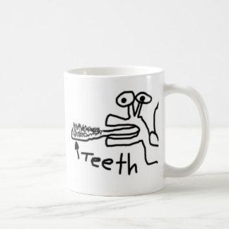 かたつむりの歯のマグ コーヒーマグカップ