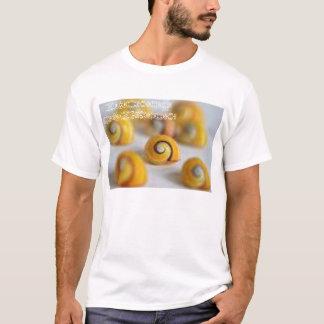 かたつむりの貝 Tシャツ