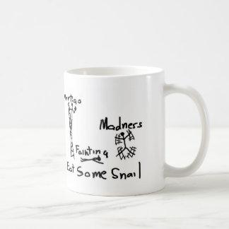 かたつむりのperscription コーヒーマグカップ