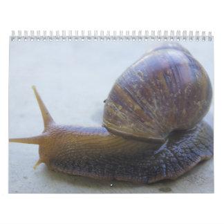 かたつむり カレンダー