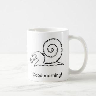 かたつむり(マグ) コーヒーマグカップ