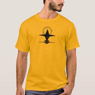 かたつむり-黒 Tシャツ