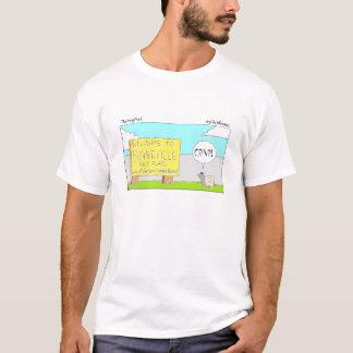 かたつむり、TheStripMallのbyChrisRogers Tシャツ
